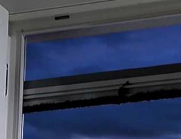 volet roulant avec moustiquaire intégrée